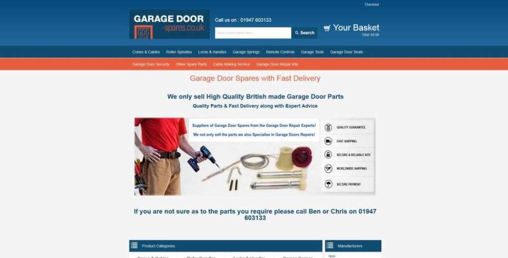 GDS UK Garage Door Spares Ltd Testimonial Identify Web