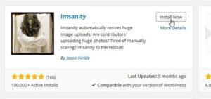 Resizing plugin for WordPress